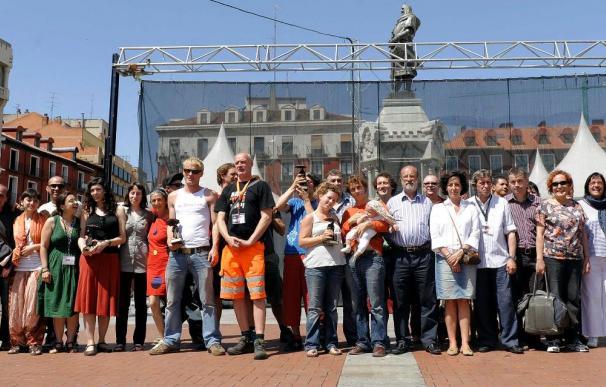 La compañía francesa XY triunfa en Festival de Teatro de Calle de Valladolid