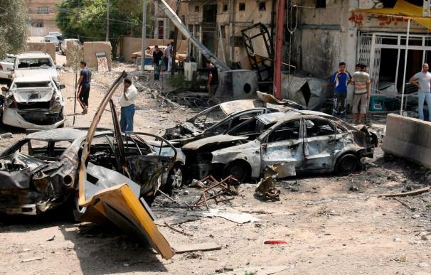 Dos policías muertos y otros cinco heridos en un ataque en el centro de Bagdad