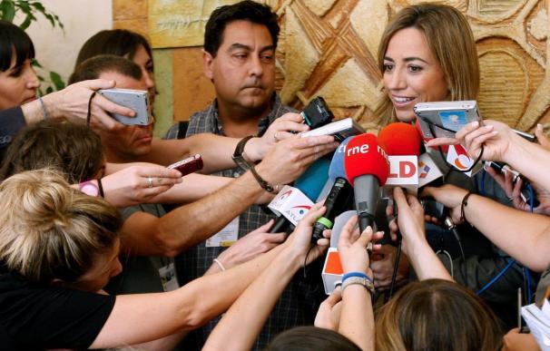 """Chacón se declara """"satisfecha"""" con la sentencia y dice que no irá a la manifestación"""