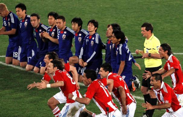 0-0. Los penaltis llevan a Paraguay a unos históricos cuartos y deja a Japón fuera (5-4)