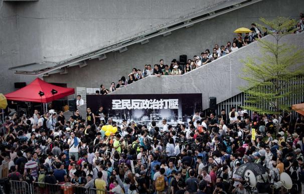 El espíritu de la revolución de los Paraguas de Hong Kong vuelve a tomar las calles