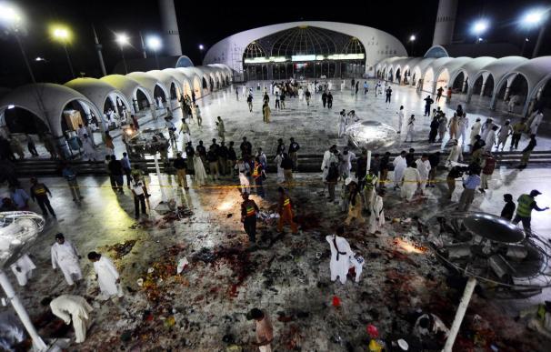 41 muertos en el triple atentado contra un popular santuario sufí en Lahore