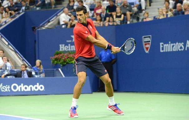 Djokovic maravilla con golpes espectaculares en sus entrenamientos / AFP
