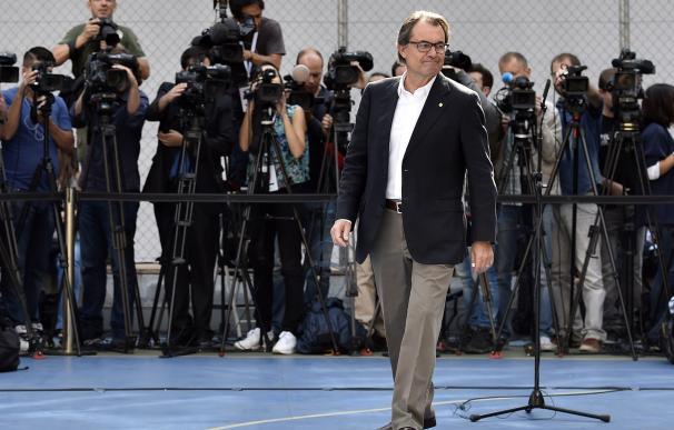 El futuro de Artur Mas como presidente de la Generalitat no está nada claro