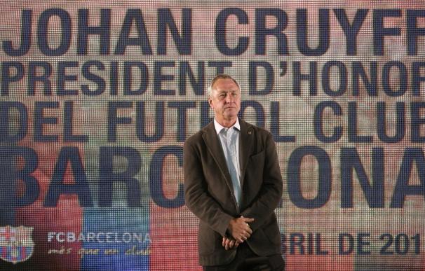 """Cruyff afirma que """"Pellegrini tiene un crédito enorme por su comportamiento"""""""