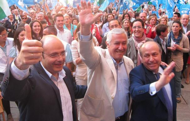 """Arenas augura una """"nueva etapa"""" en Granada tras una """"victoria histórica"""" en la capital y en la Diputación"""