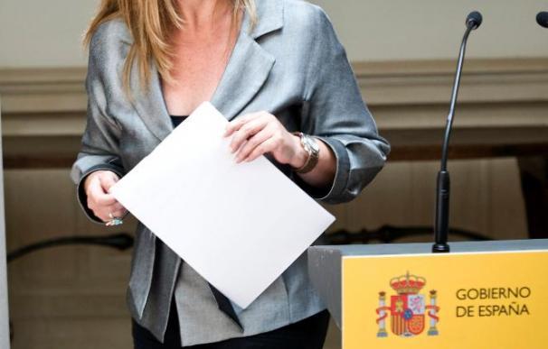 La ministra de Exteriores ve sano para la democracia que la opinión se exprese en la calle