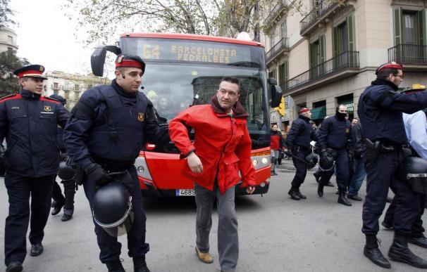 Cortado más de dos horas el centro de Barcelona por una falsa alarma
