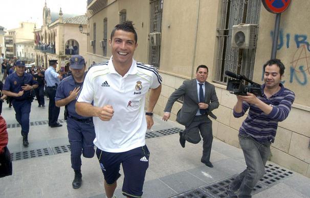 El Real Madrid anima a Lorca a tirar hacia delante en medio de la emoción