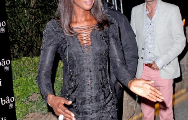 Naomi Campbell, fan del karaoke