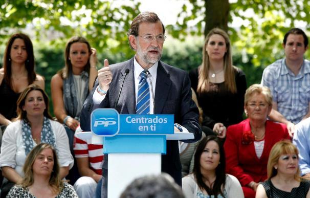 Rajoy sitúa al PP como garantía para evitar intentos anexionistas de Navarra