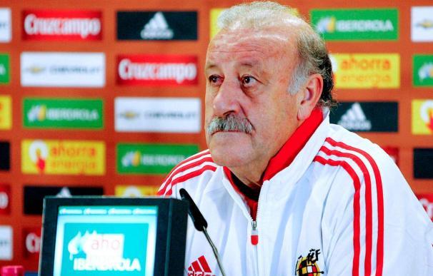 """Del Bosque opina que """"Raúl es potencialmente un jugador de la selección"""""""