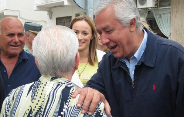 """Arenas dice que Griñán ha hecho la campaña """"más radical"""" del PSOE pasando """"de desesperación a agresividad"""""""