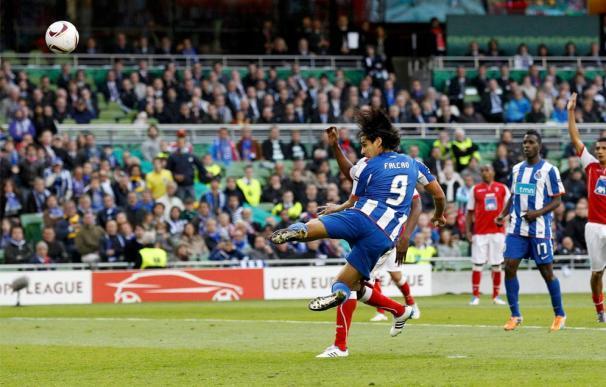 Final de la Europa League: Oporto 1 - 0 Sporting de Braga.