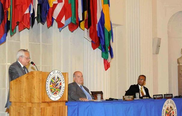 La Organización de Estados Americanos se reúne en su sede de EEUU