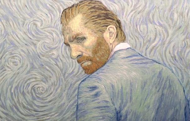 Alumnos del Divino Corazón interpretan en una exposición la obra de Van Gogh