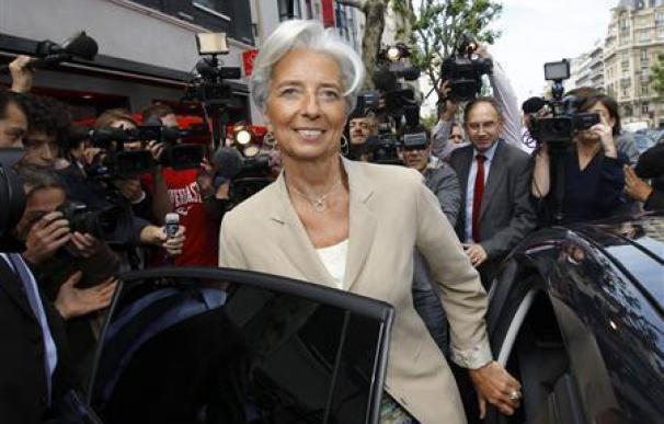 Francia: Lagarde tiene el respaldo de muchos países para el FMI