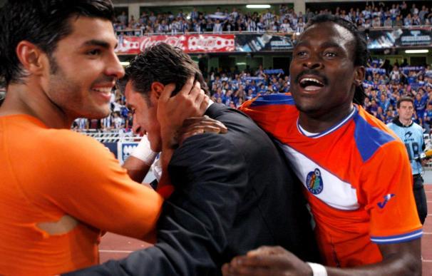 1-1. Anoeta sufrió hasta el empate de Paco Sutil ante un Getafe que también se salva