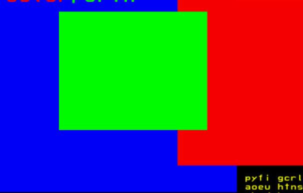 colorForth, un lenguaje de programación tan esotérico como colorido