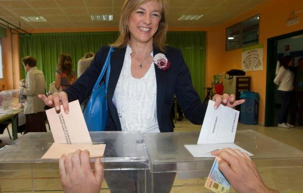El PP, con el 14 por ciento de los votos escrutados, pierde en Oviedo la mayoría absoluta