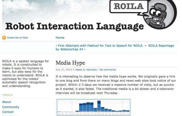 ROILA: un lengua artificial para comunicarse con los robots
