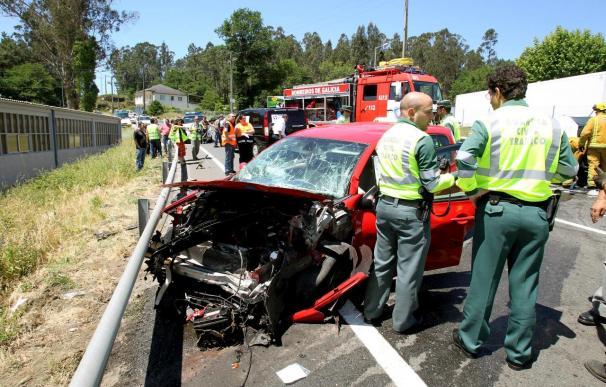 Mueren dos personas en accidentes en las carreteras hasta la tarde del sábado