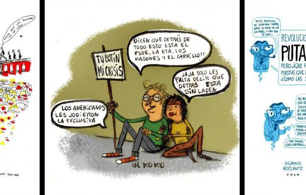 El cómic y la ilustración se vuelcan con el 15-M