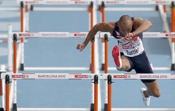 Turner devuelve a Gran Bretaña el título en 110 m.vallas