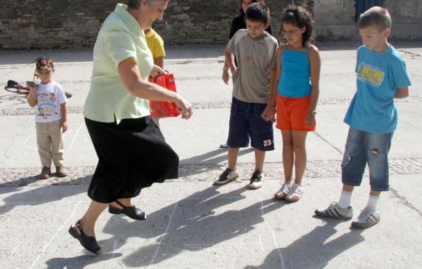 Los juegos infantiles de hace treinta años, más saludables que los de hoy