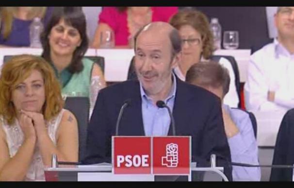 Rubalcaba anuncia que se presenta a elecciones para suceder a Zapatero
