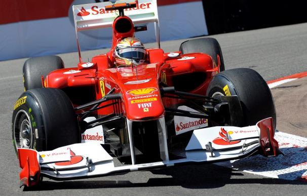 Fernando Alonso, mejor tiempo en la última y accidentada sesión libre