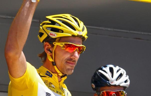 Petacchi se impone en la cuarta etapa, Cancellara mantiene el liderato