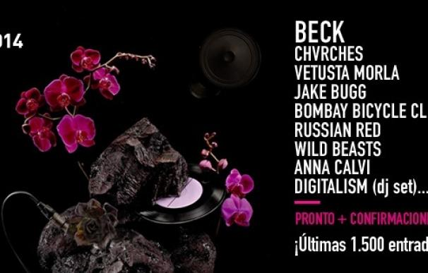 Beck, Chvrches, Wild Beasts y Digitalism se suman al cartel del festival DCode