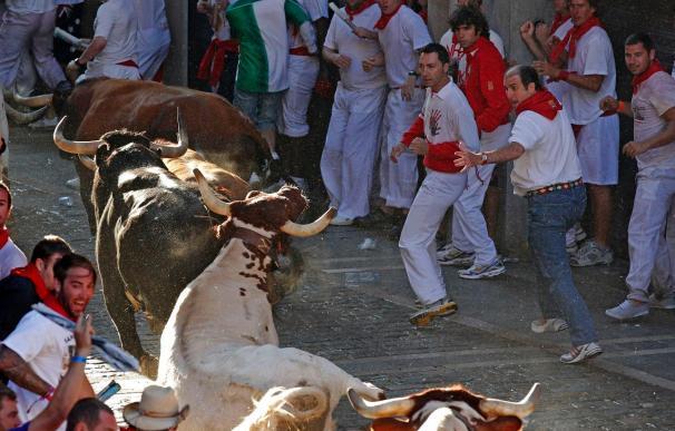 Pamplona honra a su patrón en el día grande de las fiestas