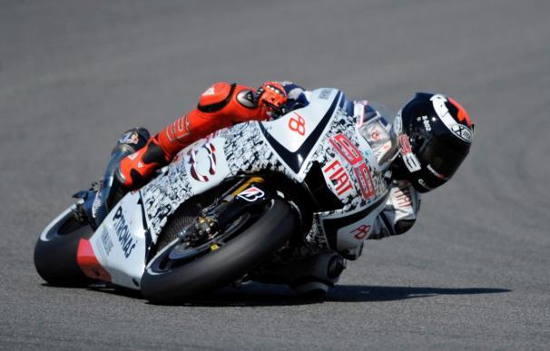 Lorenzo logra su segunda mejor posición en los entrenamientos en Laguna Seca