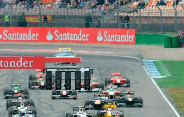 Doblete de Ferrari con Alonso y Massa por delante de Vettel