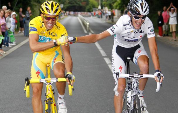 Andy Schleck asegura que el año que viene vuelve a por el maillot amarillo