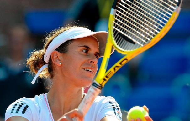 Anabel Medina gana junto a Hradecka el título de dobles