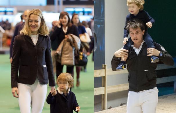 El pequeño Amancio Ortega celebra su tercer cumpleaños en un conocido torneo de hípica