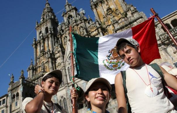 La Ruta Quetzal celebra en Santiago el Xacobeo 2010