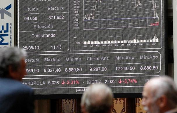 Telefónica se dispara y permite a la bolsa española cerrar con alza del 0,15 por ciento