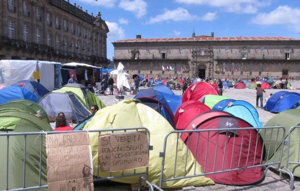 Los 'indignados' gallegos estudian sumarse a la convocatoria de manifestaciones el próximo domingo 19