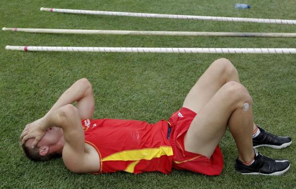 Bychkov eliminado en pértiga con tres nulos en 5,30