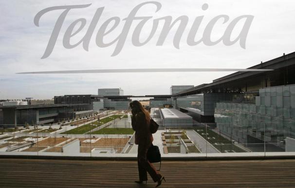 Telefónica gana un 9,4 por ciento más hasta junio y se dispara en Bolsa