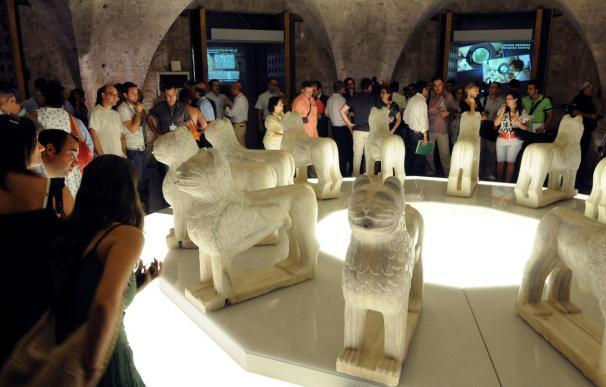 Exponen los leones de la Alhambra tras 3 años de restauración