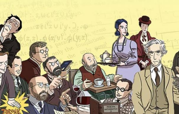 Matemáticos, lógicos y filósofos son los protagonistas de la novela gráfica Logicomix