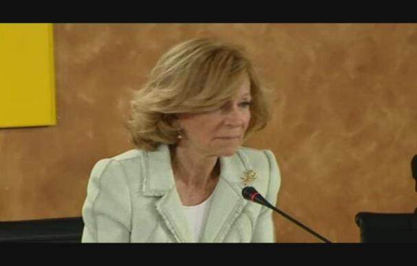 Salgado pide más moderación a las CCAA