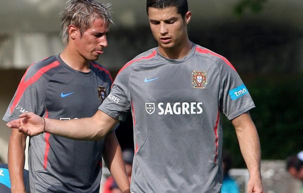 El jugador del Benfica Fábio Coentrao admite que quiere marcharse al Real Madrid