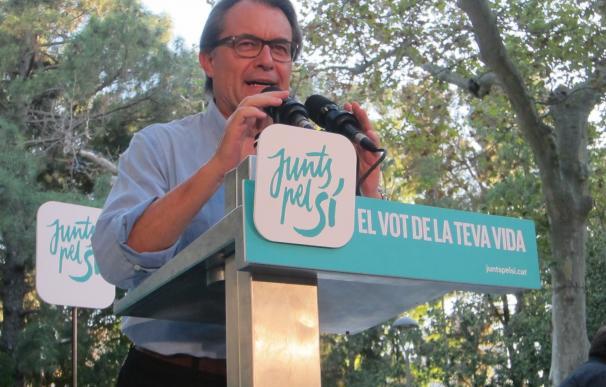 El TSJC imputa a Mas, Ortega y Rigau por la consulta del 9N