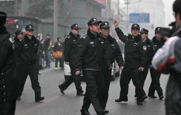 Gran despliegue de policía en Pekín para impedir las protestas